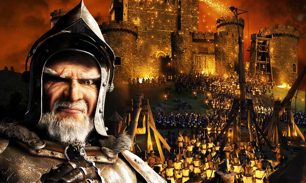 نسخه دوبله فارسی دارینوس بازی Stronghold 3 - قلعه 3